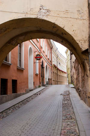 casimir: St. Casimir street in Vilnius old town, Lithuania