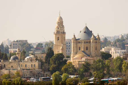 Church of the Dormition, Jerusalem, Israel photo