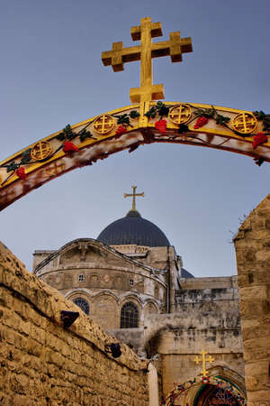 sepulchre: Church of the Holy Sepulchre in Jerusalem