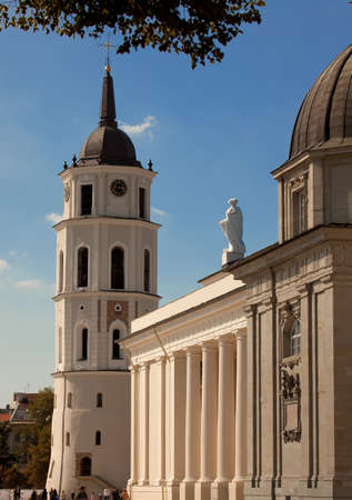 sainthood: The heart of capital of Lithuania - Vilnius Cathedral