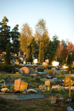 vilnius: Karveliskiu graveyard Vilnius Lithuania