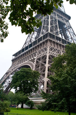Eifel Tower, Paris, France Stock Photo