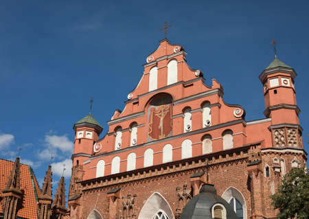 francis: Church of St. Francis and Bernadine in Vilnius, Lithuania