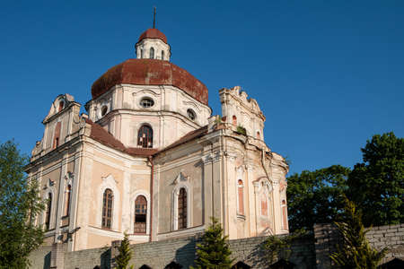 Church of the Sacred Heart of Jesus in Vilnius, Lithuania Stock Photo