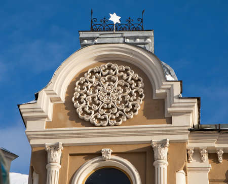 Great Choral Synagogue in Grodno, Belarus - one of the oldest synagogues in Europe