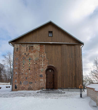 The Kalozha church of Sts. Boris and Gleb, the oldest structure in Grodno, Belarus