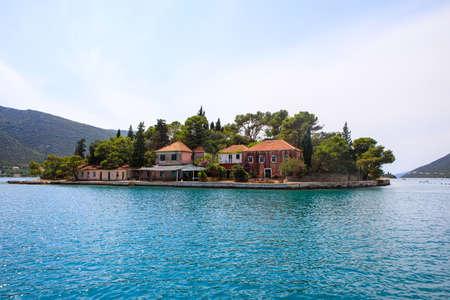 Otok Zivota Island in Adriatic sea near the coast of Croatia 版權商用圖片