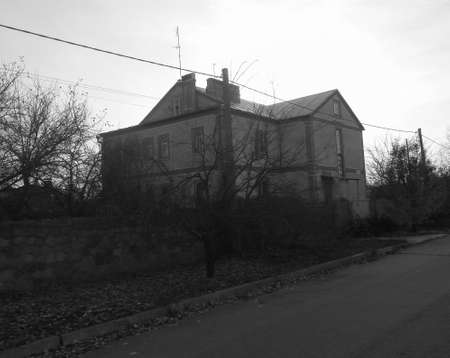 Large rural house Stock fotó