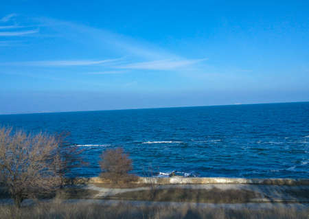 Sea view Odessa, Odessa region Stock Photo