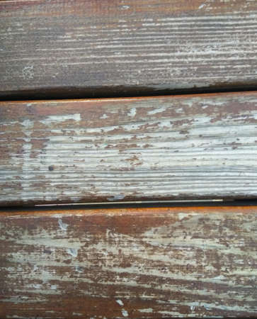 Old shabby, scratched boards. Background for shooting. Foto de archivo
