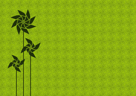Green energy concept background.
