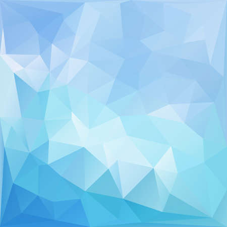 Light blue abstract polygonal background.