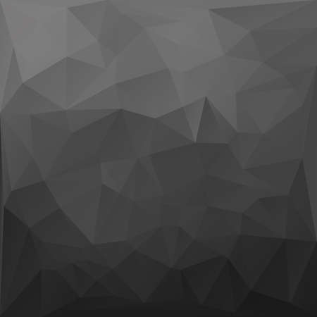 Dark grey abstract polygonal background.