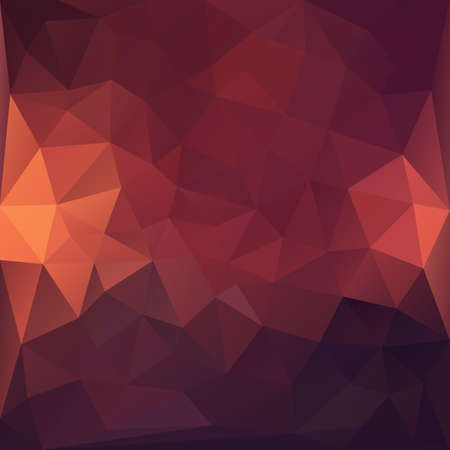 Dark red abstract polygonal background.