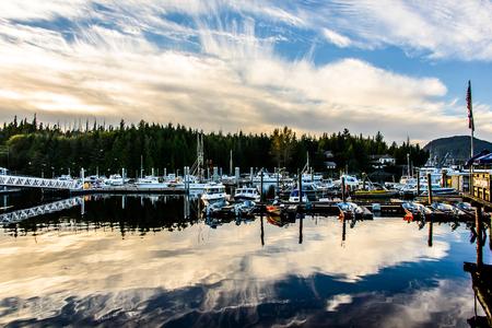 Southeast Alaska Coast Stock Photo