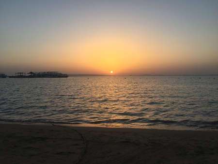 Sunrise in hurghada