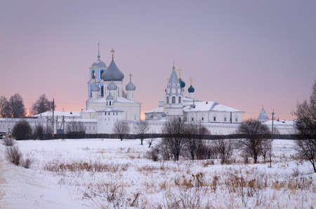 Pereslavl-Zalessky city. Nikitsky monastery. One of oldest in Russia