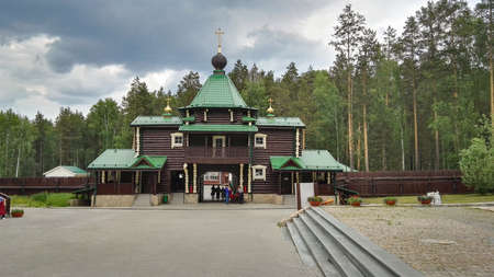 Yekaterinburg, Russia, June 2017. The project is traveling in Russia. Monastery of the Holy Royal Passion-Bearers. The place where they wanted to bury the last Russian Tsar Nicholas II and his family.