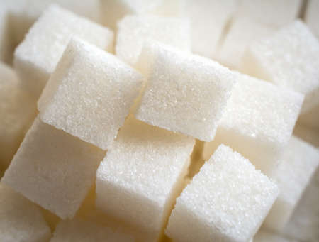 Refined sugar abstract background