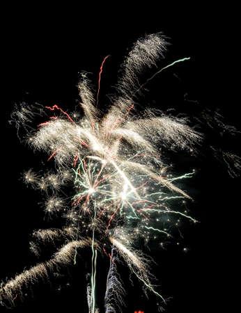 Fireworks light up the sky Banco de Imagens