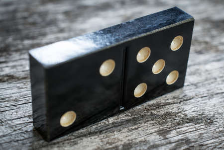 domino piece abstract