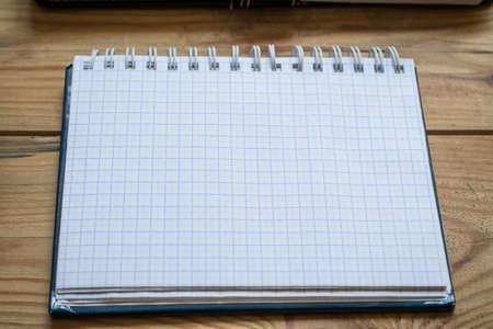 notepad close up