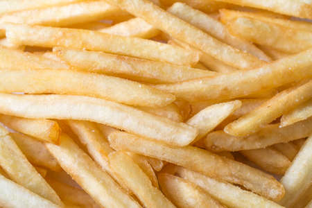 french fries background close up shot