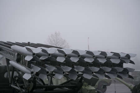 Rocket artillery combat venicle BM-13, the legendary Russian mortar Katyusha