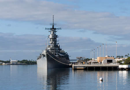 USS Missouri at Pearl Harbor Memorial