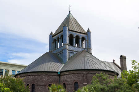 congregational: Circular congregational church located in charleston sc