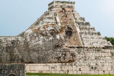 Las ruinas mayas de Chich?n Itz? - Pen?nsula de Yucat?n, M?xico Foto de archivo - 20305697