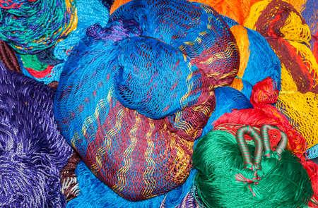 Hamacas en venta cerca de Chichen Itza Foto de archivo - 20305743