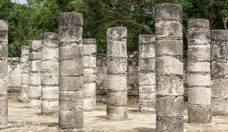 Las ruinas mayas de Chich?Itz? Pen?ula de Yucat? M?co Foto de archivo - 20305747