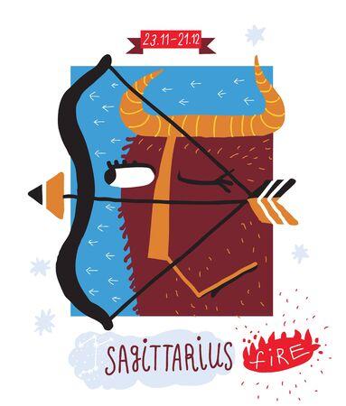Sagittarius Stock Vector - 15825063