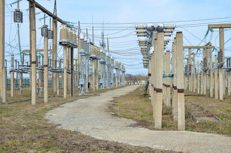 switchgear: Outdoor switchgear for electrical substations