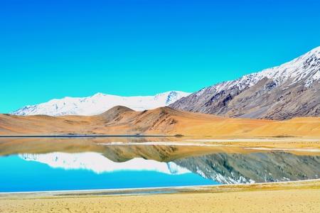 ladakh: Ladakh is a place of natural beauty. Stock Photo