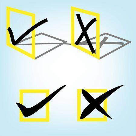 orthographic symbol: Check mark
