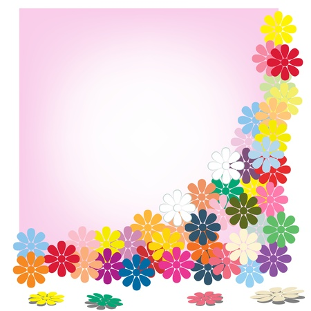 cards flower pink Stock Vector - 16921221
