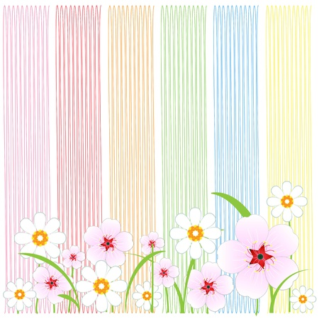 Flowers Background Stock Vector - 16951957