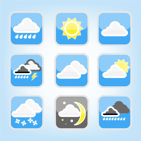 symbol weather Collection Stock Vector - 16951928