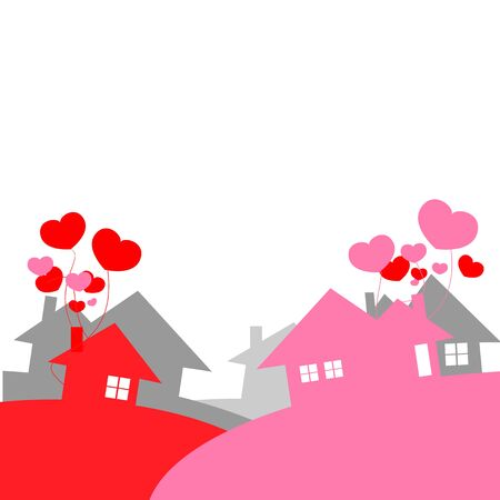 city of love Stock Vector - 17158403