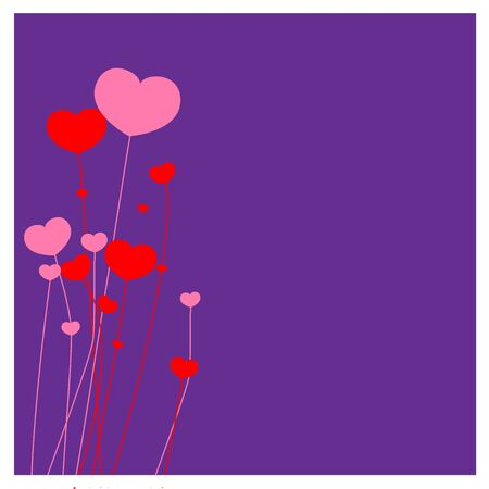 flower Purple background Stock Vector - 17158407