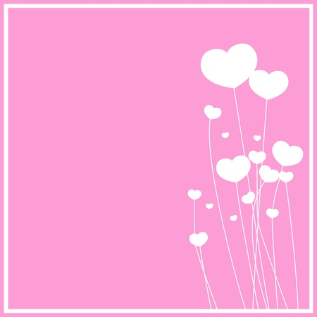 flower pink background Stock Vector - 17158404