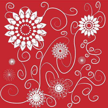flower cards 02 Stock Vector - 17240438