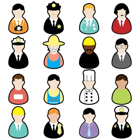 job set Stock Vector - 18020527