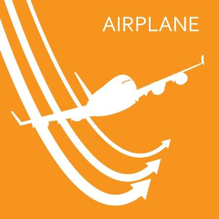 airplane symbol Ilustração
