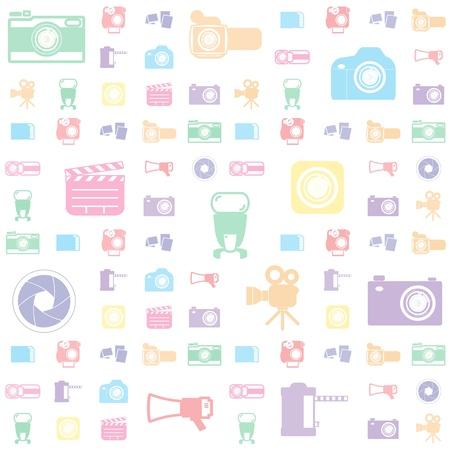 camera flash: camera gadget set