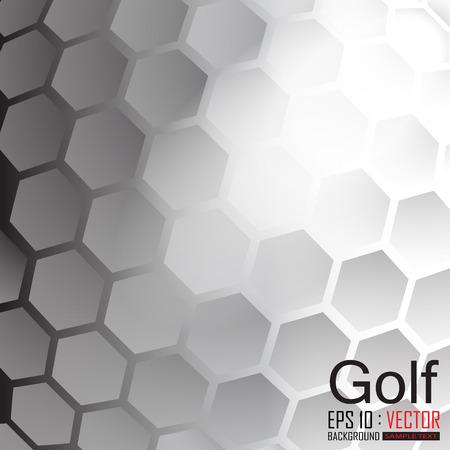 pelota de golf: Antecedentes golf, Ilustración