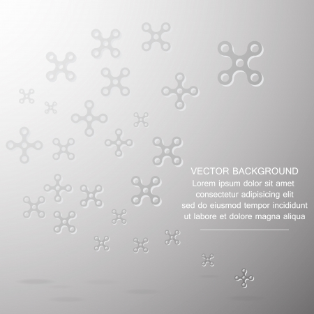 Christmas and Flowers Modern abstract Background ,Illustration eps 10 Vector