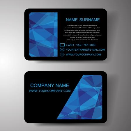businesscard: Modern Business-Card Set ,Illustration  Illustration